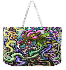 Dragon Vines Weekender Tote Bag by Kevin Middleton