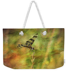 Dragonfly Art Weekender Tote Bag