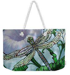 Dragonfly In Sun Weekender Tote Bag
