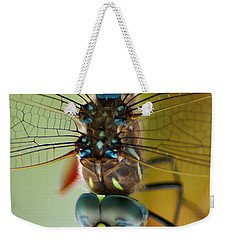 Dragonfly In Thought Weekender Tote Bag