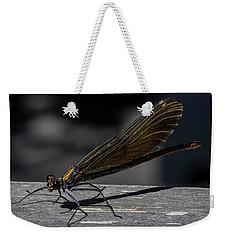 Dragonfly Weekender Tote Bag by Rainer Kersten