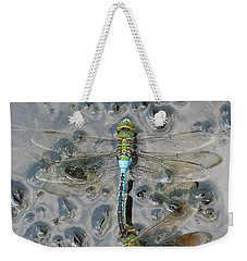 Dragonfly Reflections Weekender Tote Bag