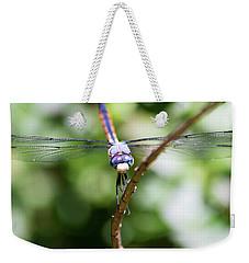 Dragonfly Watching Weekender Tote Bag