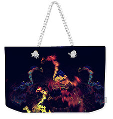 Dragons - Abstract Fantasy Art Weekender Tote Bag