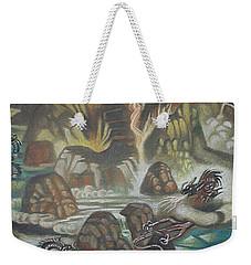 Dragon's Breath Weekender Tote Bag