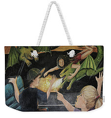 Dragons From The Train Weekender Tote Bag