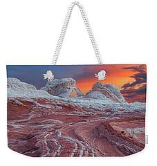 Dragons Tail Sunrise Weekender Tote Bag