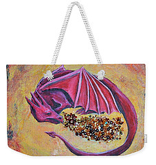 Dragon's Treasure Weekender Tote Bag