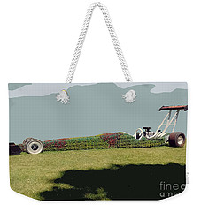 Dragster Flower Bed Weekender Tote Bag