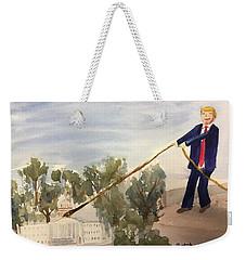 Draining The Swamp Weekender Tote Bag