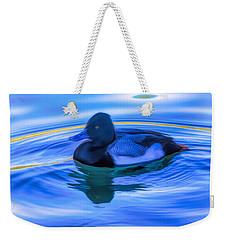 Drake On Blue Weekender Tote Bag