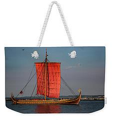 Draken Harald Harfagre Weekender Tote Bag by Dale Kincaid