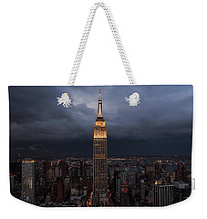 Drama In The City  Weekender Tote Bag by Anthony Fields
