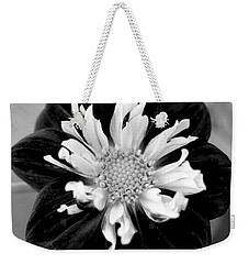 Weekender Tote Bag featuring the photograph Drama Queen by Corinne Rhode