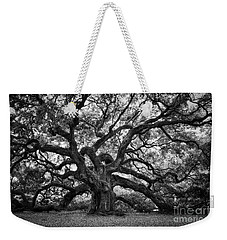 Dramatic Angel Oak In Black And White Weekender Tote Bag