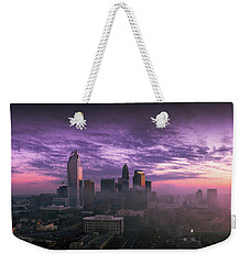 Dramatic Charlotte Sunrise Weekender Tote Bag by Serge Skiba