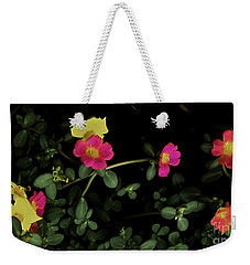 Dramatic Colorful Flowers Weekender Tote Bag