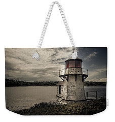 Dramatic Mid-day Shot Of Squirrel Point Weekender Tote Bag