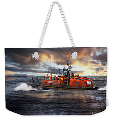 Dramatic Once More Unto The Breach  Weekender Tote Bag