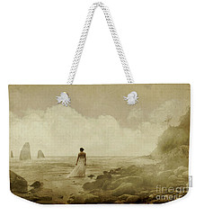 Dramatic Seascape And Woman Weekender Tote Bag