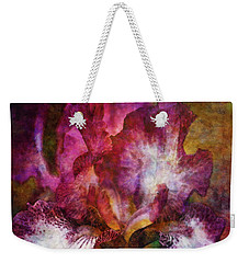 Dramatic White And Purple 0273 Idp_2 Weekender Tote Bag