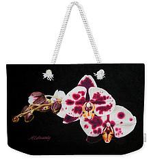 Drawing Of Polka Dot Moths Weekender Tote Bag
