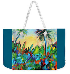 Drawn By The Color Weekender Tote Bag by Elizabeth Fontaine-Barr