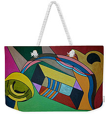 Weekender Tote Bag featuring the painting Dream 306 by S S-ray
