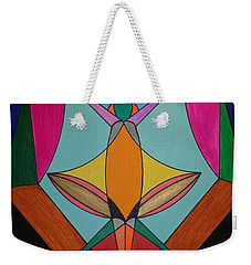 Weekender Tote Bag featuring the painting Dream 307 by S S-ray
