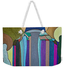 Weekender Tote Bag featuring the painting Dream 308 by S S-ray