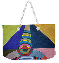 Weekender Tote Bag featuring the painting Dream 309 by S S-ray