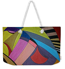 Weekender Tote Bag featuring the painting Dream 311 by S S-ray