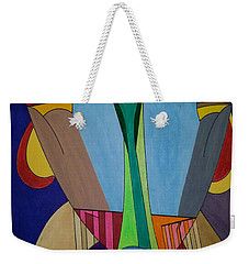 Weekender Tote Bag featuring the painting Dream 312 by S S-ray
