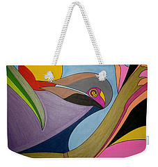 Weekender Tote Bag featuring the painting Dream 314 by S S-ray