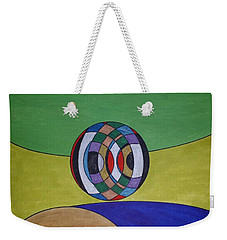 Weekender Tote Bag featuring the painting Dream 315 by S S-ray