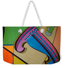 Weekender Tote Bag featuring the painting Dream 317 by S S-ray