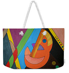 Weekender Tote Bag featuring the painting Dream 318 by S S-ray