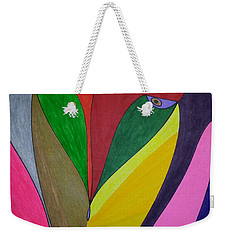 Weekender Tote Bag featuring the painting Dream 320 by S S-ray