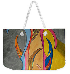 Weekender Tote Bag featuring the painting Dream 324 by S S-ray