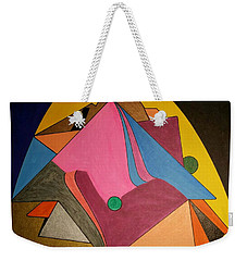Weekender Tote Bag featuring the painting Dream 327 by S S-ray