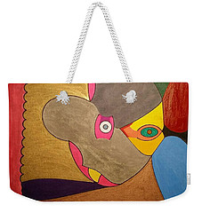 Weekender Tote Bag featuring the painting Dream 329 by S S-ray
