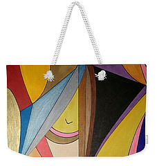 Weekender Tote Bag featuring the painting Dream 330 by S S-ray