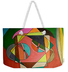 Weekender Tote Bag featuring the painting Dream 332 by S S-ray
