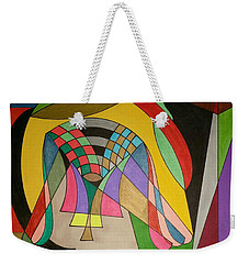Weekender Tote Bag featuring the painting Dream 333 by S S-ray