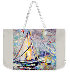 Dream Boat Weekender Tote Bag