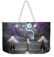 Dream Catcher Dragon Fish Weekender Tote Bag