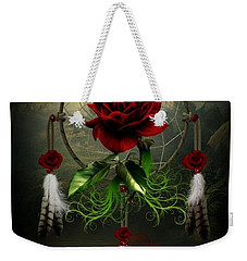 Dream Catcher Rose Weekender Tote Bag