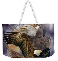 Dream Catcher - Spirit Eagle Weekender Tote Bag