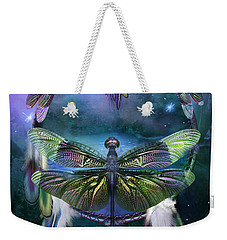 Dream Catcher - Spirit Of The Dragonfly Weekender Tote Bag