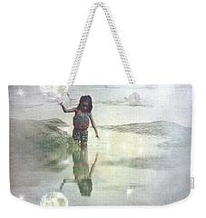 To Touch The Moon Weekender Tote Bag